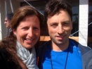 With Google's Sergey Brin